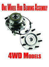 Front Wheel Hub Bearing for Hummer H2 Chevrolet Siverado & Gmc Sierra Series 4WD