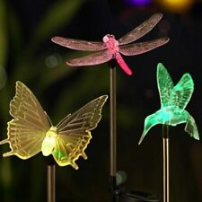 Garden Solar Powered LED Lights Outdoor Color Changing Lawn Decor Light