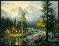 Camper's Cabin - Chart Counted Cross Stitch Pattern Needlework Xstitch craft