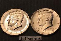2018 P&D Kennedy Half Dollar PD MINT ROLL Clad 50¢ Best Collector Grade Coins 21