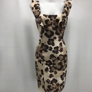 Moschino Cheap & Chic Tan Leopard Dress 6