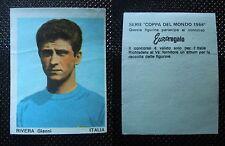 ***COPPA DEL MONDO 1966*** ED. FERRERO - RIVERA ITALIA !!!