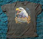 Vintage 1990 Harley Davidson Eagle T-shirt XL Wilmington, NC Soft Thin Tee