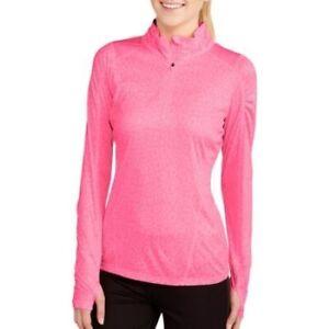 New / Danskin Now / Women's Pink 1/4 Zip Up Reflective Running Jacket