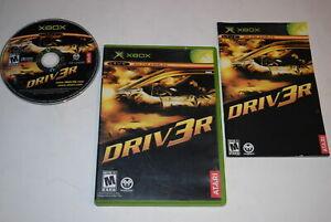 DRIV3R Microsoft Xbox Video Game Complete