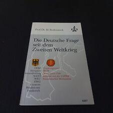 Die Deutsche Frage seit dem Zweiten Weltkrieg (Geschichte, Sek II, Quellenband)