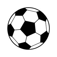 Football Iron on Screen Print fabric Machine Washable Transfer soccer