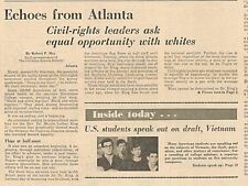 More details for martin luther king assassination civil right equal rights april 11 1968 b16