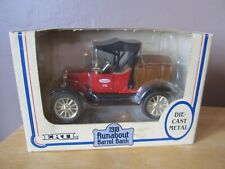 Vintage ERTL TRUE VALUE 1918 Ford Runabout Barrel Bank~1:25 Scale Replica~NEW
