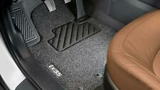 Fußmatten Hyundai Tucson 1 JM uni clips 2004-2010 - Schwarz Nadelfilz 3tlg