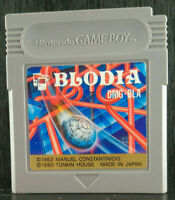 Blodia- Nintendo Game Boy-1990-DMG-BLA-Japan Import