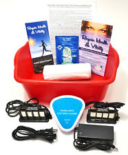 Detox Foot Bath, Automatic Detox Ionic Foot Bath Spa Cleanse Unit 1 YEAR WARRANY
