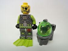Lego personaje atlantis submarinista Ace Speedman atl005 set 8057 8075 8077