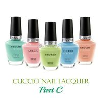 CUCCIO Colour PART C Professional Nail Lacquer  Polish 13 mL/ 0.43 oz > Ship 24H