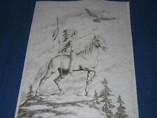 * Tri Chem 7333 Eagle Warror Horse Spear Mountain Top Picture Trichem