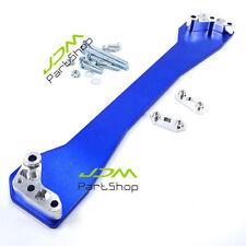 Honda Civic 96-00 Ek Jdm Aluminum Rear lower Subframe Brace Sub Frame Bar blue