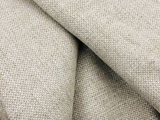 Colefax & Fowler Linen Weave Chenille Uphol Fabric- Marldon / Flax 2 yd F3701-06