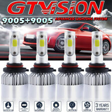 9005 + 9005 Combo LED Headlight Bulb Kit For 2013-2015 Toyota Rav4 High Low Beam