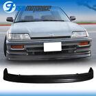 Fit 88-91 Honda Civic Front Bumper Lip Spoiler Pu Ef Sedan Hb Cs
