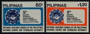 Philippines 1738-9 MNH National Research Council, Crest