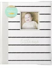 My Baby First Memories Book - Kate Milo Greywhite Strip - Keepsake Record Album