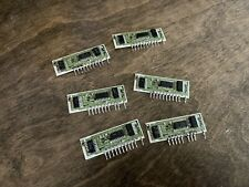 6x Roland 80017a VCF/VCA chip for Juno106 106S HS60 MKS7 MKS30 GR700 NON-WORKING