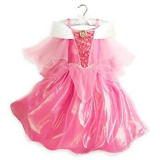 Girl PRINCESS AURORA Costume Dress Child Medium 7 8 DISNEY STORE Sleeping Beauty