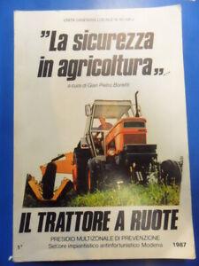 sicurezza in agricoltura. il trattore a ruote Bonetti Gian Piero
