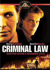 NEW Criminal Law Gary Oldman Kelvin Bacon 1988 Thriller Crime Drama Rare OOP DVD