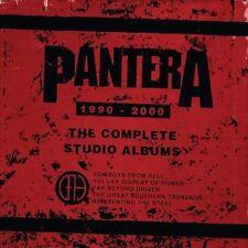 The Complete Studio Albums 1990-2000 [Box] [PA] by Pantera (CD,Dec-2015, 5 Disc)
