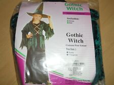 Halloween Fancy Dress ~ Girls Gothic Witch small age 4-5