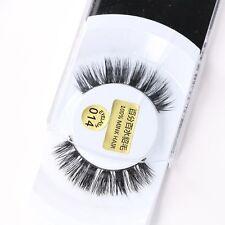 Eyelash Fake Natural 1Pair False Eyelashes 100% Real Mink Lashes Thick