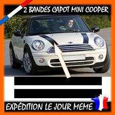 2 Bandes Capot pour Mini Cooper -  Sticker -