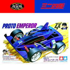TAMIYA 1/32 Mini 4WD Series NO.38 PROTO EMPEROR ZX #18038 Dash! Yonkuro 1991Rare
