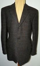 Sakko Jacke Harris Tweed Gr 24 C&A braun leichtes Karo - sehr gepflegt