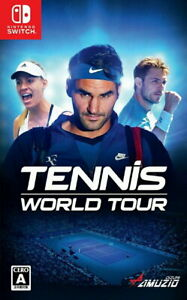 Tennis World Tour Nintendo Switch Video Games Japanese Tracking NEW