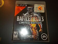 Battlefield 3 -- Limited Edition (Sony PlayStation 3, 2011) ~ Complete