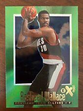 1996 -1997 BASKETBALL NBA SKYBOX E-X2000 RASHEED WALLACE #60