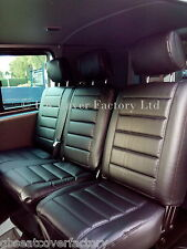 VW TRANSPORTER T5 SHUTTLE  MINBUS 8 / 9 SEATER SEAT COVERS- PREMIUM QUALITY
