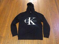 Men's Calvin Klein Jeans Big Logo Black Reissue Hoodie sz M