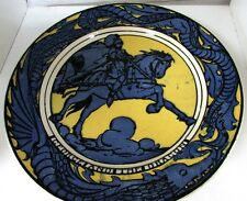 1900's George and the dragon plate, made in England, Royal Doulton, D5108, 19