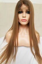Dark Dirty Blonde, Human Hair Wig Full 360 Silk Lace Frontal Wig