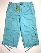 SALE!! Women's SIGRID OLSEN Mid Rise Capris Pant Size 4, Brand New!
