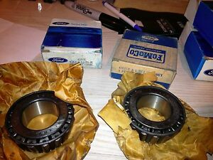 1966 Bronco 1973 1974 1975 Ford F250/350 Front Outer Bearings NOS Ford C3TZ-1216