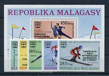 Madagaskar 802/06 Block 13 postfrisch / Olympiade ........................1/3213