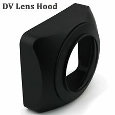 77mm Square Lens Hood Sun Shade for DV Camcorder Video Camera DSLR Wide Angle