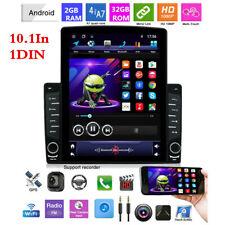 Android 8.1 1DIN 10.1In Pantalla Vertical Wifi Bluetooth Reproductor de Radio de Coche GPS Navi