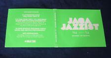 JAGA JAZZIST ~ '94 - '14  NINJA TUNE 18 TRACK EU PROMO 2 CD