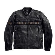 Harley-Davidson Cowhide Leather Exact Men Motorcycle Jackets