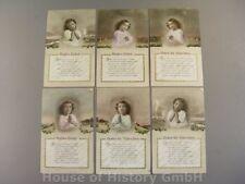114240, Patriotische Postkarten, Serie KINDER-GEBET, Lepochrom L&P 5655, Mädchen